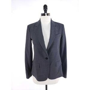 Theory Gabe Italian Wool Notch Slim Fit Blazer
